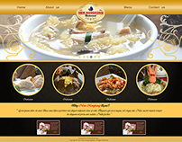New Hongkong Resto Website Interface Concept