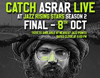 Billboard Design - Lahore Qalandars Jazz Rising Stars.