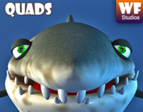Cartoon Shark - For Sale