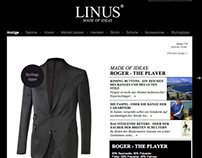 Website: LINUS - Made of ideas