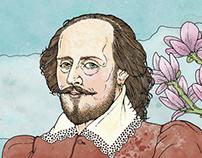 """""""450 years Shakespeare"""" for Süddeutsche Zeitung"""