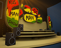 Kus-Man Stage Design
