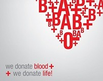 Donate blood + Donate life