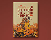 Book Cover - A revolução que mudou o mundo, Russia 1917