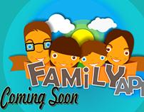 Family App - Concept Art