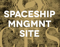 SPACESHIP MNGMNT New Website
