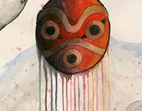 Mononoke Hime Movie Poster