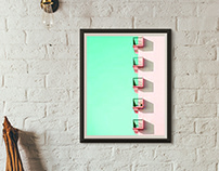 "Art Direction ""wall frame"""