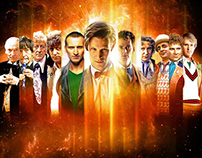 Doctor Who 50th Additional Artwork