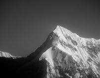 Himalayas : Black & White Giants