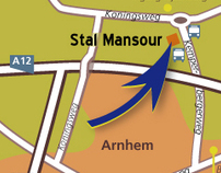Routekaart Stal Mansour