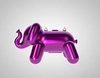 Bubble Elephant - Handbag project
