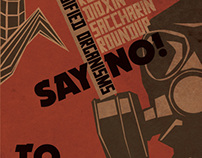 Say No to GMO Poster