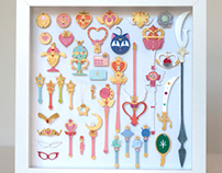 Paper cuts: Sailor Moon