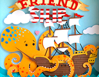 Paper cuts: Friend Ship