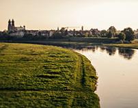 Spring Warta River