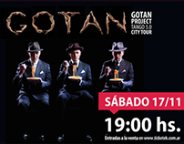 Gotan Project for MARQ