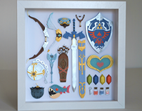 Paper cuts: Legend of Zelda