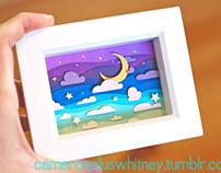 Paper cuts: Starry Night