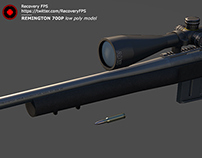 Remington 700 | Recovery FPS | 3D Model