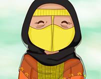 Character design, Qatari characters