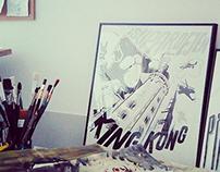 Supardejen - KING KONG album cover art