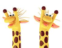 Fantoche Giraffas