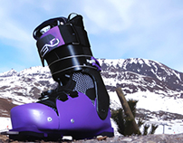 Ascend Concept Ski Boot Design