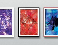Watercolor Posters