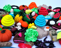 Fimo little toys