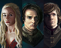 Studies - Game of Thrones Fan Art
