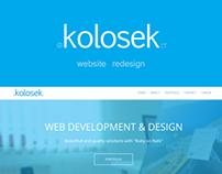 Kolosek redesign