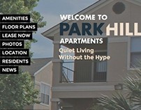 Apartment Community Website
