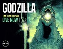 GODZILLA / TIME LIMITED SALE / HCG