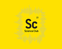 Science Club Branding