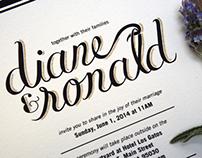 Diane & Ronald