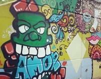 Graffiti San Pedro Sula, HN 040514