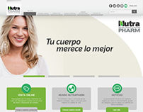 Nutrapharm Website