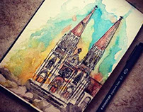 Cathedral Sketch