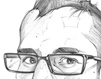 People Sketches / Caricaturas Lápiz