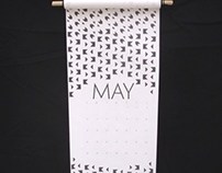 2014 Scroll Calendar