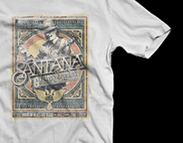 SANTANA Retail Merchandise / House of Blues Las Vegas