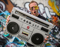 Beck's Boom Box - NZ Music Month