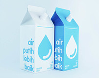 Air Putih Packaging Concept