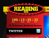 Reading Festival Website