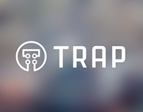 TRAP Logo and UI