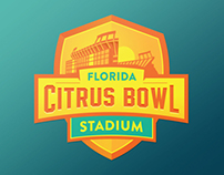 Florida Citrus Bowl Logo - Unused