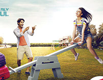 american tourister outdoor campaign 2014