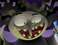 Purple Cape Game Illustrations