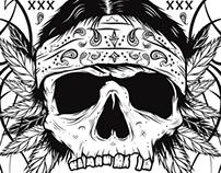 Beatnik skull